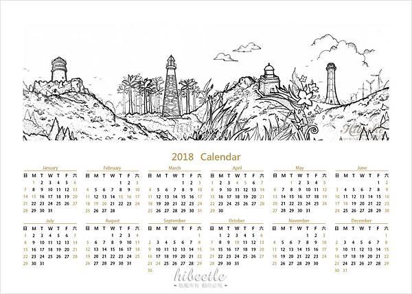 年曆-預購特典
