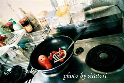 たらこ在鍋子裡