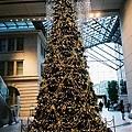 丸之內某大樓裡的聖誕樹
