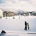 瞭望整個滑雪場