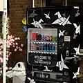 很符合下町風情的自動販賣機
