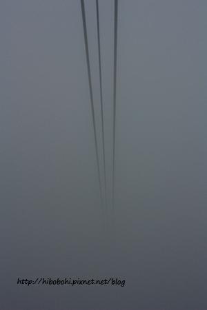 消失在霧裡的纜線
