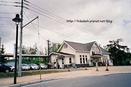 大沼公園站,好精緻的一個小站啊!