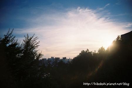 小光圈相機,拍夕陽意外地出色
