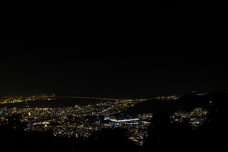 檳城升旗山夜景