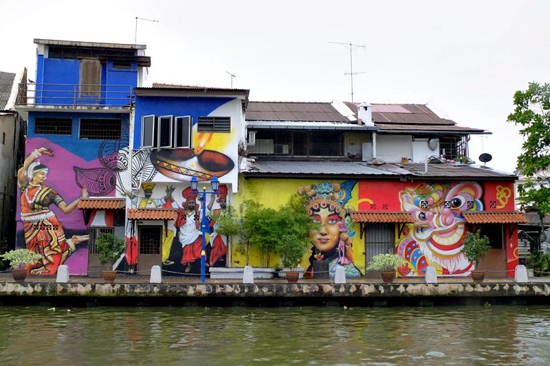 馬六甲河畔