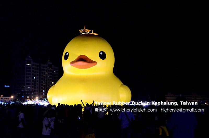 2013黃色小鴨首站高雄港
