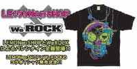 LEMONed SHOP×WeROCKコラボTシャツ!発売です☆