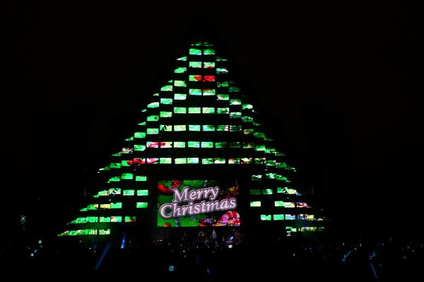 1214五月天送我們的聖誕樹
