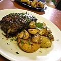 Steak et Pomme sauté