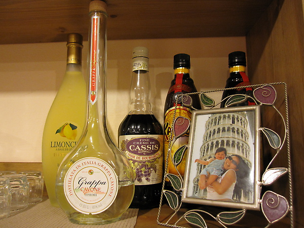 Lemoncello, Galliano e Grappa