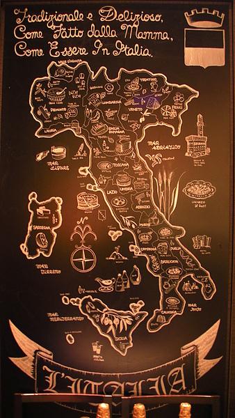 主廚手繪地圖