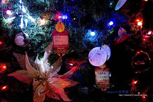 輔大50週年慶の聖誕燈海