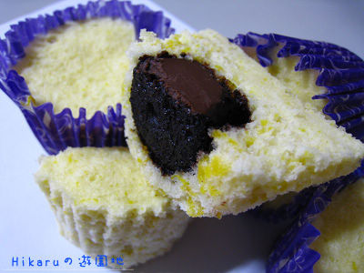 南瓜巧克力蒸蛋糕