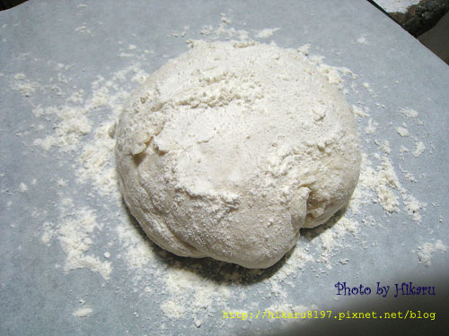 免揉麵包-聖誕花圈