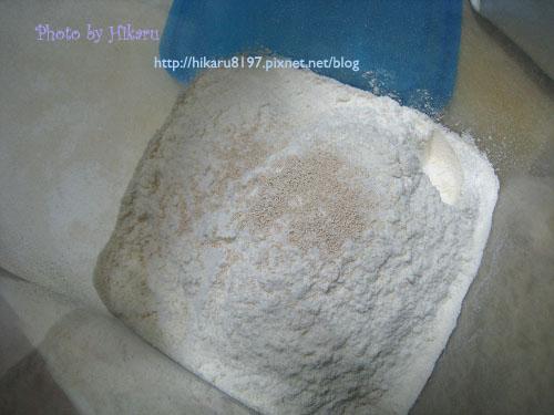 免揉麵包-麵團製作