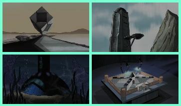 立方體、穹頂、木筏、巨室
