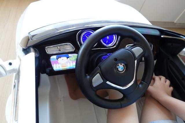 內裝 (2).JPG - 兒童電動車BMW X6 (官方介紹)