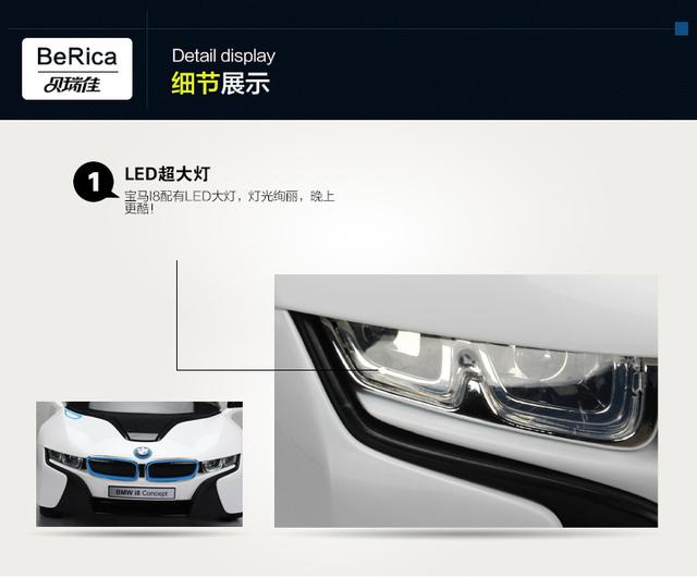 36.jpg - 兒童電動車BMW i8 - 門無法開款(官方介紹)