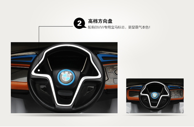 37.jpg - 兒童電動車BMW i8 - 門無法開款(官方介紹)