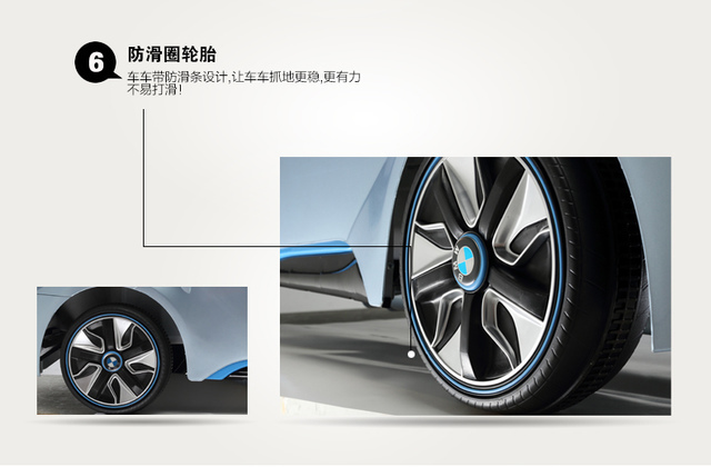 41.jpg - 兒童電動車BMW i8 - 門無法開款(官方介紹)
