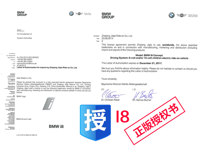 44.jpg - 兒童電動車BMW i8 - 門無法開款(官方介紹)