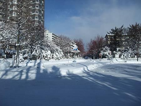 北海道豐平峽溫泉外景