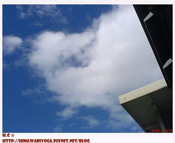 2012.2.12初考日的天空