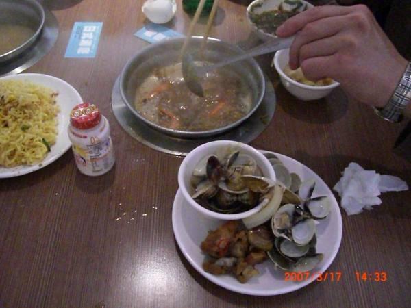 二.日式昆布火鍋煮蝦子