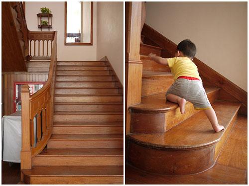 兒子13~14個月6王小三爬樓梯1.jpg