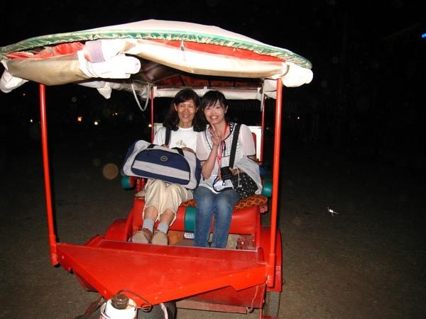 柬埔寨的嘟嘟車