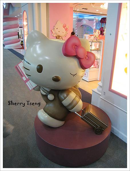 長榮候機室的Hello Kitty你好~