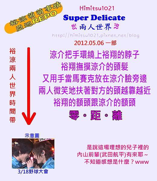 亞巡 2012.05.06 一部 SUPER DELICATE