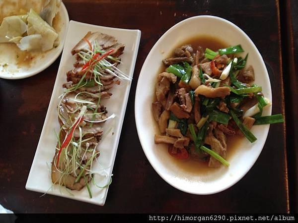 福樂麵店客家鹹豬肉及客家小炒