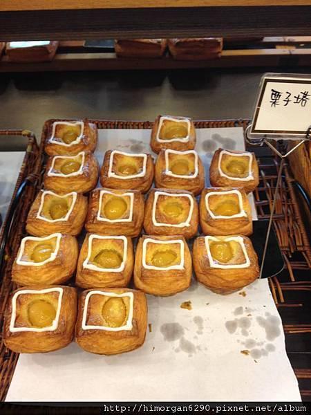 野上麵包坊栗子塔