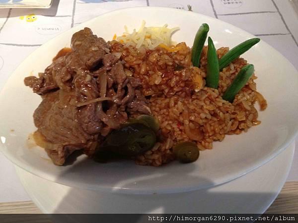 Jane&Tony Cafe墨西哥嗆辣牛肉燉飯