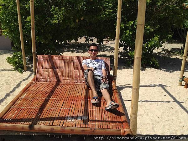 長灘島puka beach躺椅