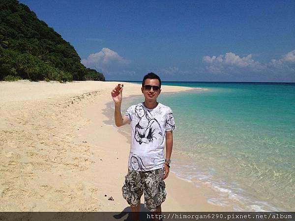 長灘島puka beach貝殼