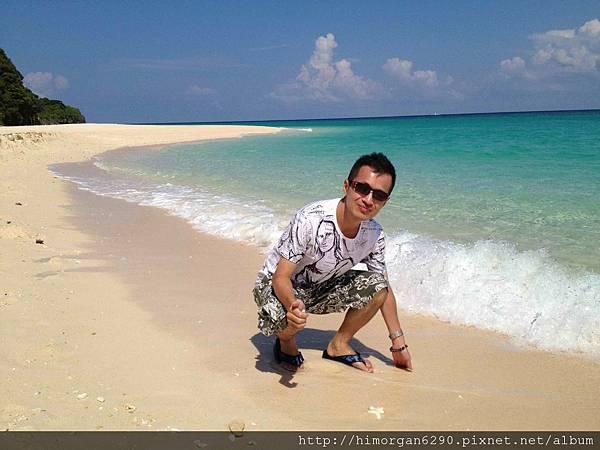 長灘島puka beach貝殼沙