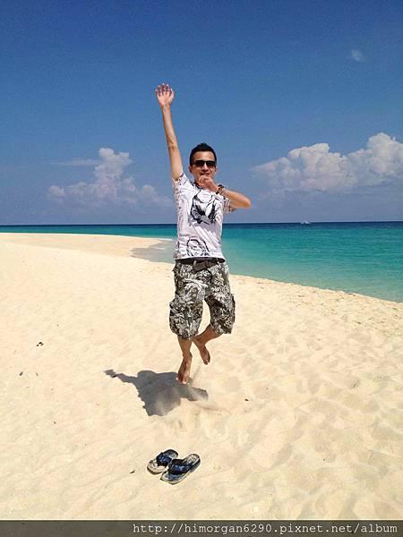 長灘島puka beach跳跳跳