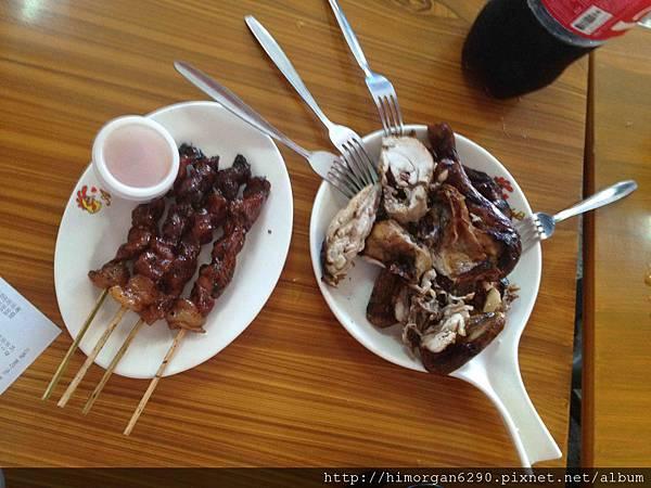 長灘島Andok's烤雞+烤肉串
