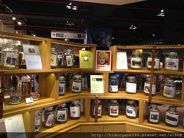 米朗琪咖啡販售區