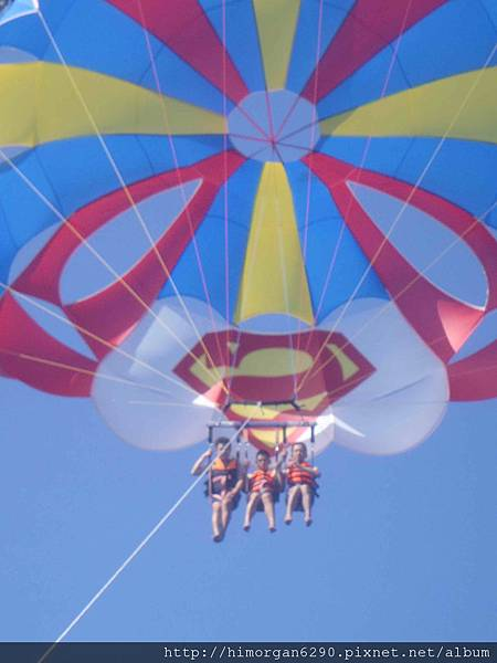 長灘島拖曳傘-下降-1
