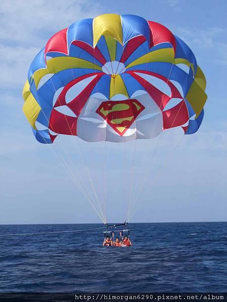 長灘島拖曳傘-下降-3