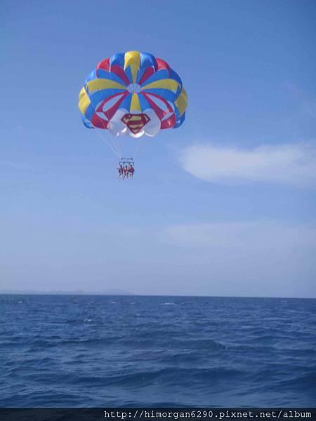 長灘島拖曳傘-上升-1
