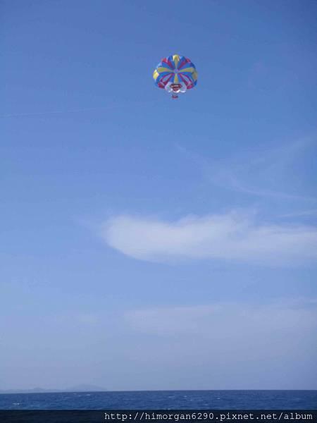 長灘島拖曳傘-上升-2