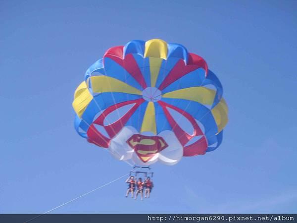 長灘島拖曳傘-上升