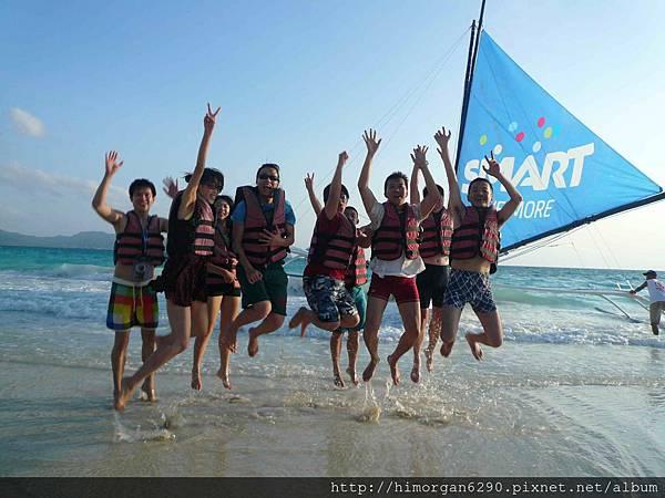 長灘島風帆船-1