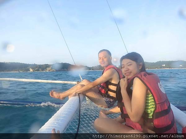 長灘島風帆船-上船-2