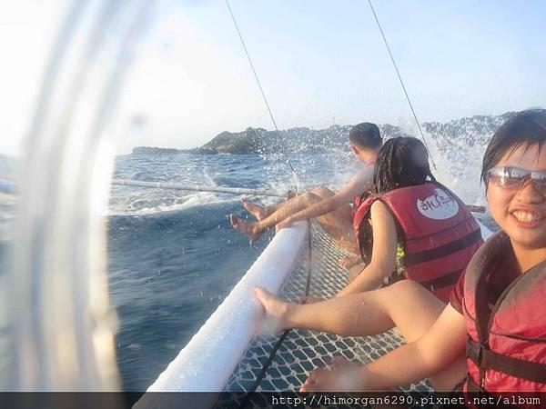 長灘島風帆船-上船-3